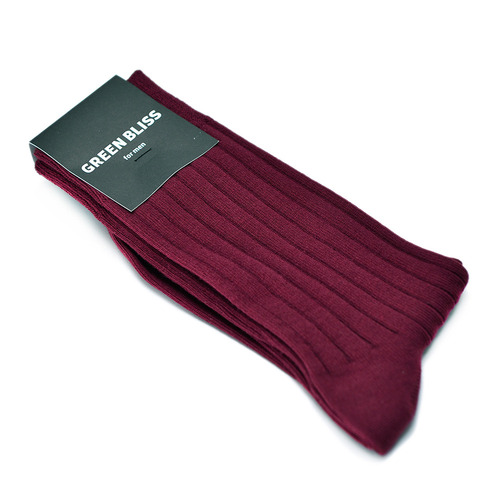 for men Solid Burgundy