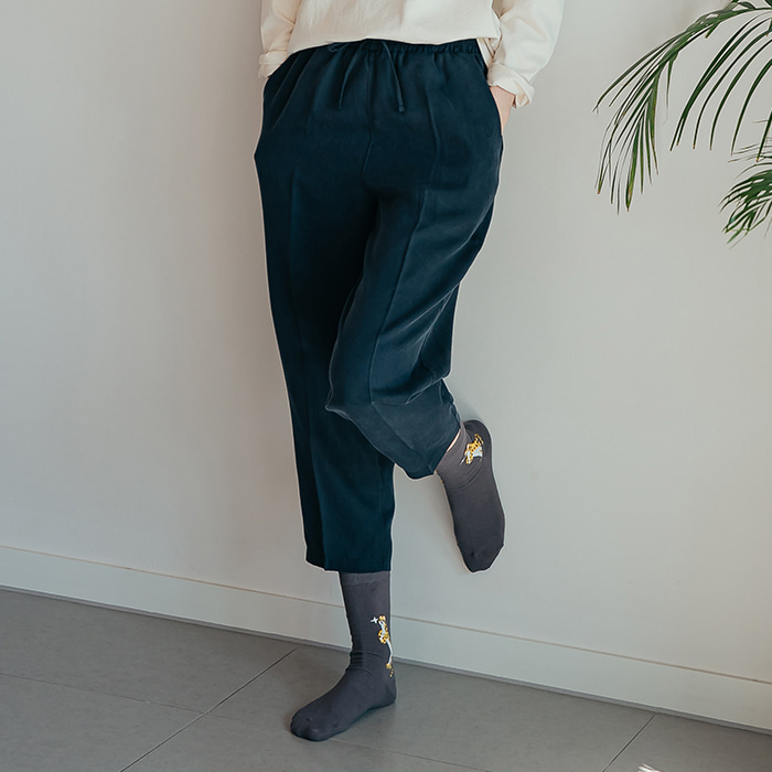 Eucalyptus Pants (navy)